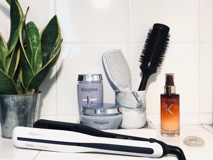 Ma routine cheveux complète : soins etaccessoires